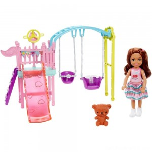 Black Friday - Barbie Club Chelsea Swingset Playset