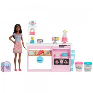 Black Friday - Barbie Cake Bakery Playset