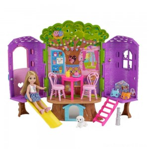 Black Friday - Barbie Chelsea Doll and Treehouse Playset