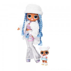 Black Friday - L.O.L. Surprise! O.M.G. Winter Disco Snowlicious Fashion Doll & Sister