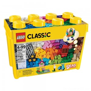 Black Friday - LEGO Classic Large Creative Brick Box 10698 Build Your Own Creative Toys, Kids Building Kit