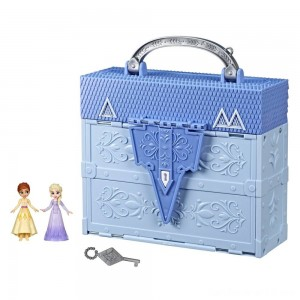 Black Friday - Disney Frozen 2 Pop Adventures Arendelle Castle Playset With Handle
