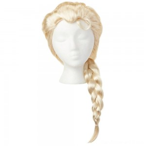 Disney Frozen 2 Elsa Wig, Yellow