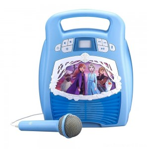 Black Friday - Disney Frozen 2 MP3 Karaoke Light Show with Microphone