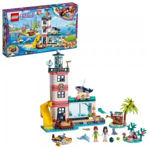 Black Friday - LEGO Friends Lighthouse Rescue Center 41380 Building Kit with Mini Dolls and Toy Animals 602pc