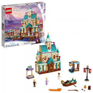 LEGO Disney Princess Frozen 2 Arendelle Castle Village 41167 Toy Castle Building Set for Imaginative Play