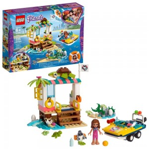 Black Friday - LEGO Friends Turtles Rescue Mission 41376 Building Kit Includes Toy Vehicle and Clinic 225pc