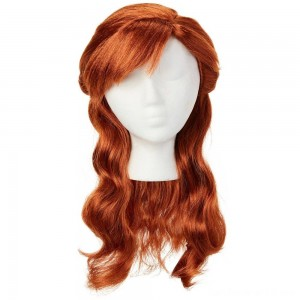 Disney Frozen 2 Anna Wig, Red