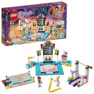 LEGO Friends Stephanie's Gymnastics Show 41372 Building Set with Gymnastics Toys 241pc