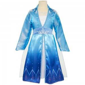 Disney Frozen 2 Elsa Travel Dress, Size: Small, MultiColored