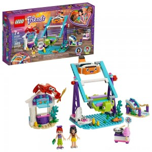 LEGO Friends Underwater Loop 41337 Amusement Park Building Kit with Mini Dolls for Group Play 389pc