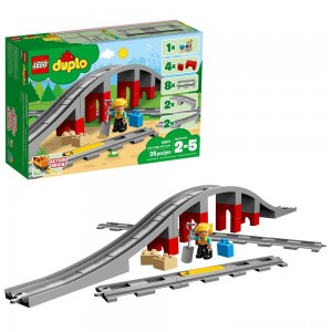 Black Friday - LEGO DUPLO Town Train Bridge and Tracks 10872