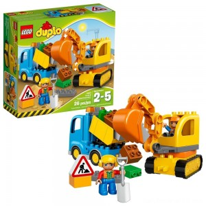 Black Friday - LEGO DUPLO Truck & Tracked Excavator 10812