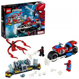 Black Friday - LEGO Super Heroes Marvel Spider-Man Bike Rescue 76113