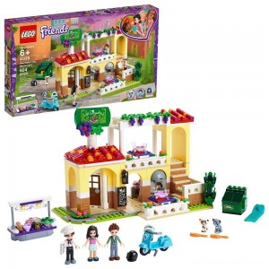 LEGO Friends Heartlake City Restaurant 41379 Building Kit with Restaurant Playset and Mini Dolls