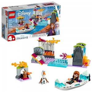 Black Friday - LEGO Disney Princess Frozen 2 Anna's Canoe Expedition 41165 Frozen Adventure Easy Building Kit 108pc