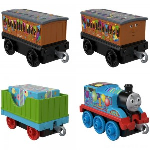 Black Friday - Fisher-Price Thomas & Friends Celebration Time Push Along 4pk