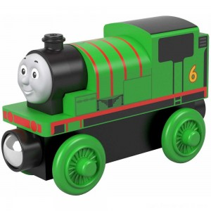 Fisher-Price Thomas & Friends Wood Percy Engine