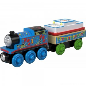 Black Friday - Fisher-Price Thomas & Friends - Birthday Thomas the Tank Engine - Wood