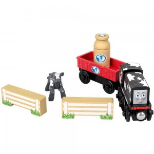 Black Friday - Fisher-Price Thomas & Friends Wood Diesel's Dairy Drop-off