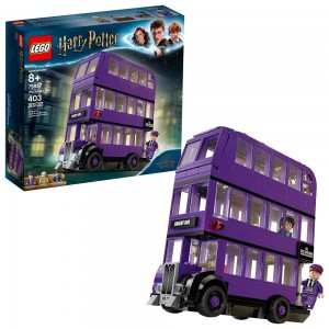 LEGO Harry Potter The Knight Bus 75957 Triple Decker Toy Bus Building Kit 403pc