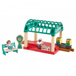 Fisher-Price Thomas & Friends Wood Knapford Train Station