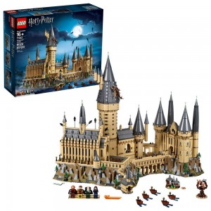 Black Friday - LEGO Harry Potter Hogwarts Castle Advanced Building Set Model with Harry Potter Minifigures 71043