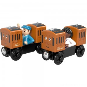 Fisher-Price Thomas & Friends Wood Annie & Clarabel