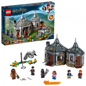 Black Friday - LEGO Harry Potter Hagrid's Hut: Buckbeak's Rescue Building Set with Hippogriff Figure 75947
