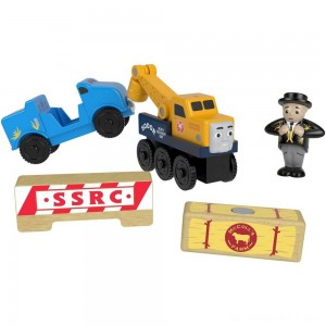 Fisher-Price Thomas & Friends Wood Butch's Road Rescue