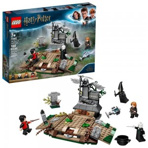 Black Friday - LEGO Harry Potter The Rise of Voldemort 75965 Wizard Minifigure Battle Action Building Set 184pc