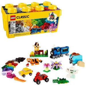 Black Friday - LEGO Classic Medium Creative Brick Box 10696 Building Toys for Creative Play, Kids Creative Kit