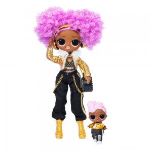 Black Friday - L.O.L. Surprise! O.M.G. Winter Disco 24K D.J. Fashion Doll & Sister