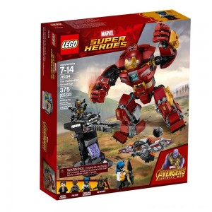 LEGO Super Heroes Marvel Avengers Movie The Hulkbuster Smash-Up 76104