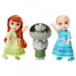 Black Friday - Disney Frozen 2 Petite Surprise Trolls Gift Set