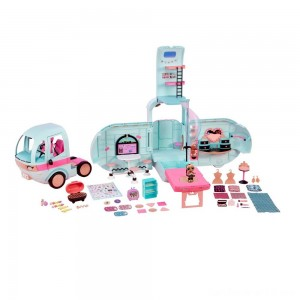 Black Friday - L.O.L. Surprise! 2-in-1 Glamper Fashion Camper with 55+ Surprises
