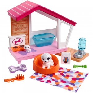 Black Friday - Barbie Dog House Playset, doll accessories