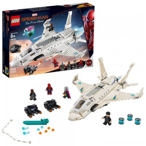 Black Friday - LEGO Super Heroes Marvel Spider-Man Stark Jet and the Drone Attack 76130