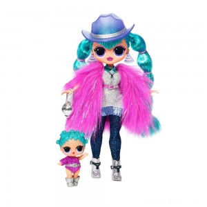 Black Friday - L.O.L. Surprise! O.M.G. Winter Disco Cosmic Nova Fashion Doll & Sister