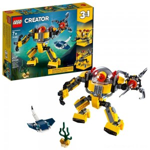 Black Friday - LEGO Creator Underwater Robot 31090