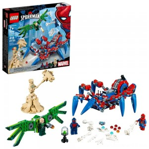 Black Friday - LEGO Super Heroes Marvel Spider-Man's Spider Crawler 76114