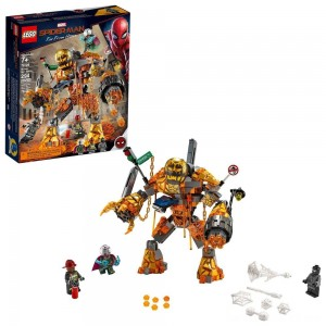 Black Friday - LEGO Super Heroes Marvel Spider-Man Molten Man Battle 76128