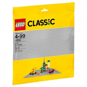Black Friday - LEGO Classic Gray Baseplate 10701