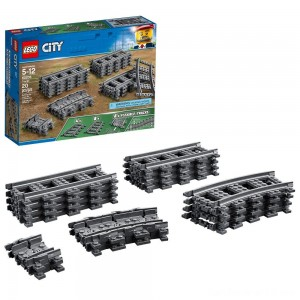 Black Friday - LEGO City Trains Tracks 60205
