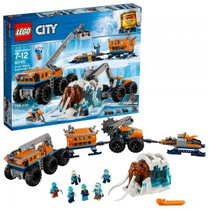 LEGO City Arctic Mobile Exploration Base 60195