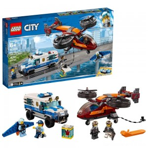 LEGO City Sky Police Diamond Heist 60209