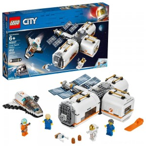 Black Friday - LEGO City Space Lunar Space Station 60227 Space Station Building Set with Toy Shuttle