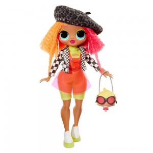 Black Friday - L.O.L. Surprise! O.M.G. Neonlicious Fashion Doll with 20 Surprises