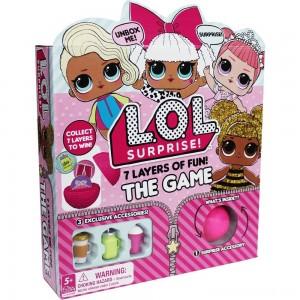 Black Friday - L.O.L. Surprise! 7 Layers of Fun Game, Kids Unisex