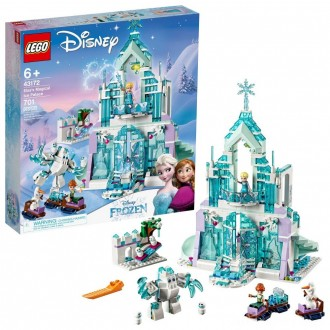 Black Friday - LEGO Disney Princess Elsa's Magical Ice Palace 43172 Toy Castle Building Kit with Mini Dolls
